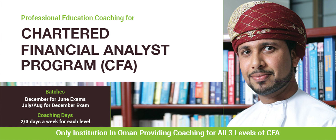 CFA-Chartered Financial Analyst